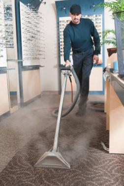 I Clean Carpet And So Much More LLC cleaning carpet via hot water extraction in Chalfont PA.