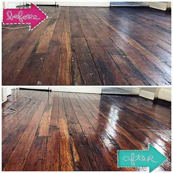 Wood Floor Cleaning by I Clean Carpet And So Much More LLC